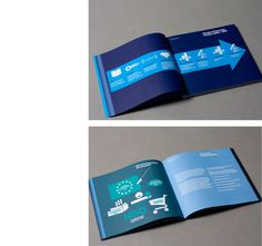 End of The Line #blue #booklet #magazine
