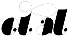 FFFFOUND! | Friends of Type #lettering #modern