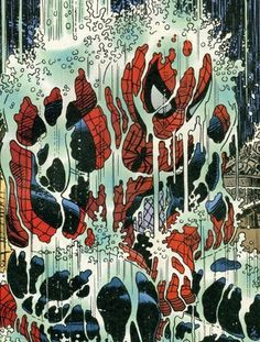 Modern Filth™ #rain #spiderman