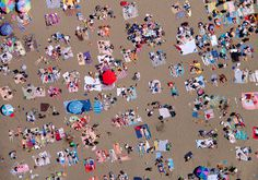aerial beach gray malin designboom01 #beach