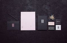 Doméstico | Manifiesto Futura #stripes #black #identity #minimal #stationery #futura #manifiesto