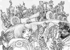 Creative Detailed Drawing Illustrations #drawing #illustrations