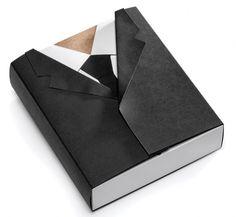 Mat Bogust THINK Packaging JOQUZ #packaging #jacket #cartoon #suit #tie