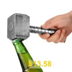 Beer #Bottle #Opener #Hammer #Of #Shaped #Beer #Bottle #Opener #Gift #- #SILVER