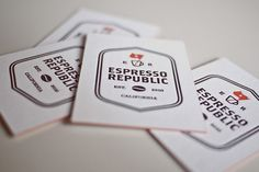 espresso_republic_03.jpg (775×517) #business #card #bean #identity #coffee