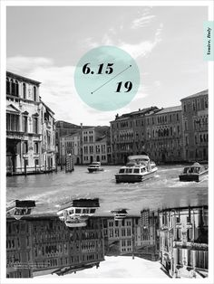 Study Abroad Series on the Behance Network #design #poster #black and white #italy