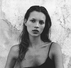 EVER ONWARDS #photography #black and white #kate moss #beauty