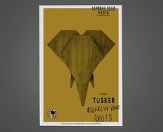 Tusker by Tom Darracott #poster