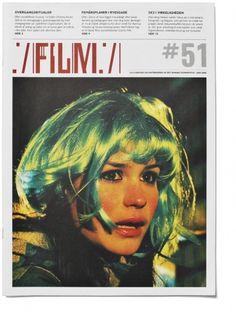 Rasmus Koch Studio : DFI magazine FILM #design #graphic #magazine #typography