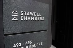 Stawell Chambers Motherbird Portfolio The Loop #signage
