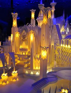 Paper Craft Castle3 #paper #castle #art #craft