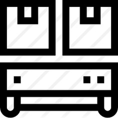 See more icon inspiration related to shipping and delivery, robotics, logistics, transportation, robot, electronics, industrial, industry, factory, machine, transport and technology on Flaticon.