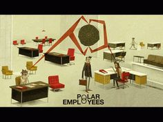 Polar Employees (1966) | Matthew Lyons #lyons #illustration #matthew