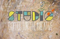 Studio: Coffee for the Creative #branding #print #design #art #fine
