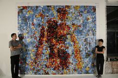 Koo Kung Sook & Ian Harvey #mosaic #art