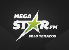 MegaStarFM #logotype #identity