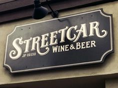 Dribbble - Streetcar Jp Cut by Richie Stewart #sign #typography