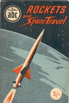 Dreams of Space Books and Ephemera #illustration #vintage #packaging #space