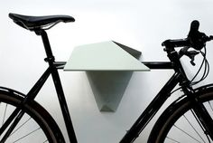 abstract bike shelf #interior #inspirational #creative #design #home #bike #rack #cool
