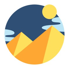 See more icon inspiration related to pyramid, egypt, desert, sun, cultures, architecture and city, pyramids, egyptian, sunny, monuments, landscape, weather, nature and travel on Flaticon.