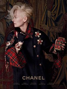 Tilda Swinton by Karl Lagerfeld