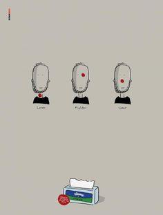Kleenex: Red Spot #ads