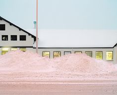 Matthieu Gafsou #pink #photography #snow