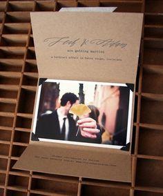 Blackbird Letterpress via Oh So Beautiful Paper (5) #invitations