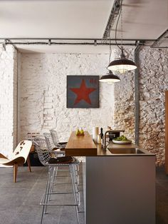 Retro Industrial Holiday Home 7