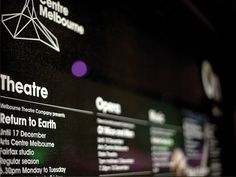 Arts Centre Melbourne #centre #branding #marque #arts #melbourne #performing #logo #brochure #typography
