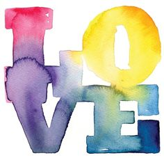 Experimental Watercolor Typography #lettering #design #illustration #type #watercolor #typography