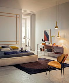 tumblr_n1q54ys1Ei1qkegsbo1_500.jpg 500xc3x97607 pixels #interior #bedroom