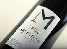 Domaine Merceron — Martin | tabaramounien – Studio de design graphique et multimédia àBordeaux depuis 2007 #label #wine #tabaramounien #minimal #typography