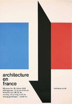 Architecture en France – Carl B Graf – 1963 #poster