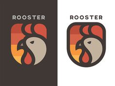 Rooster Logo #branding #logo #identity