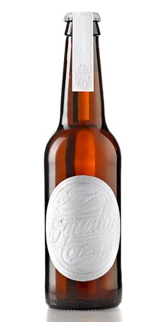 Equator Design Beer Bottle #beer #bottle #label #packaging
