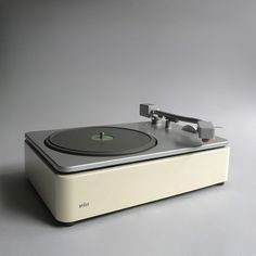 Braun electrical - Audio - PCS 45 record player #design #player #record #1960s #industrial #braun #vintage #rams #dieter