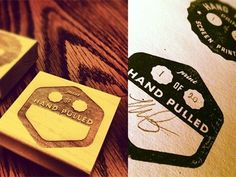 Dribbble - Screen Printing Stamps by Mike Greenwell #rubber #stamp #ink #screenprinting