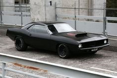 Plymouth Barracuda - The Black Workshop #car