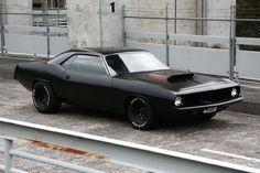 Plymouth Barracuda - The Black Workshop #car