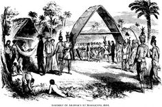 Indian-Tribes-of-Guiana-WH-Brett-1868.png (PNG Image, 783x519 pixels) #arawak #illustration #1800s