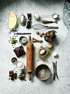 squaremeal #food #utensils #ingredients #rolling pin