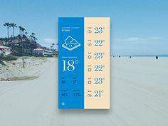 Blue Forecast Weather App Theme