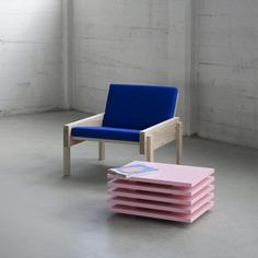 Solid Chair by Thijmen van der Steen