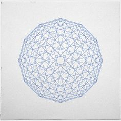 #409 Low res sphere – A new minimal geometric composition each day