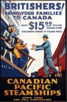 Canadian Pacific ad 1929 #travel #advertising #illustration #vintage #poster #pacific #canadian