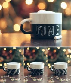 the style files #mug #chalk