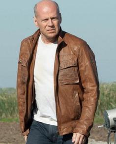 Bruce Willis Looper Leather Jacket (3)