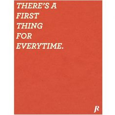 First Thing - Jacob Rhoades #poster