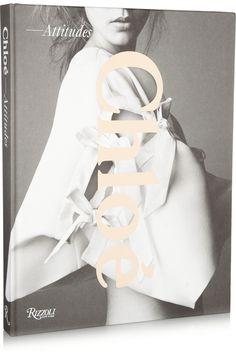 Rizzoli|Chloé: Attitudes by Sarah Mower hardcover book|NET-A-PORTER.COM #cover #chloe #book